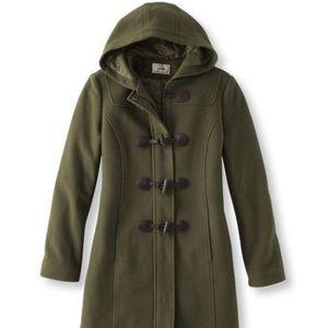 *NWT* L.L. Bean Classic Lambswool Duffle Coat